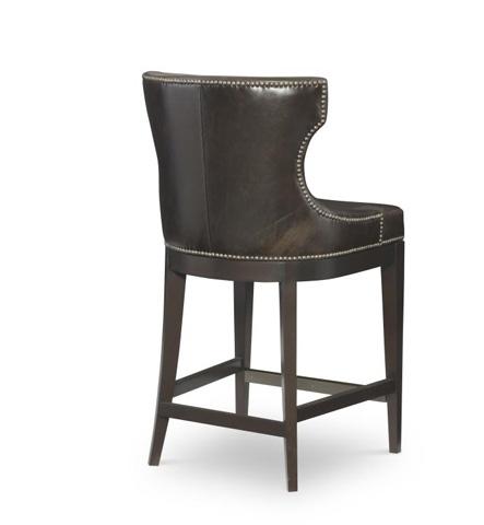 Century Furniture - Leather Counter Stool - PLR-3852C-MINK