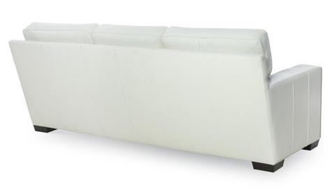 Century Furniture - Leather Sofa - PLR-9502-EGGSHELL