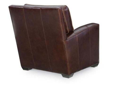 Century Furniture - Leather Chair - PLR-9506-CHIANTI
