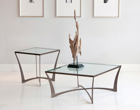 Charleston Forge - Lotus Square End Table - 6321