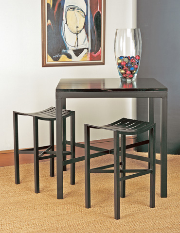 Charleston Forge - Parsons Metal Seat Counterstool - C978