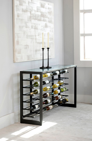 Charleston Forge - Anderson Wine Console - 9092