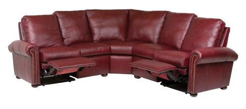 Classic Leather - Kenilworth Reclining Sectional - 11867/11866