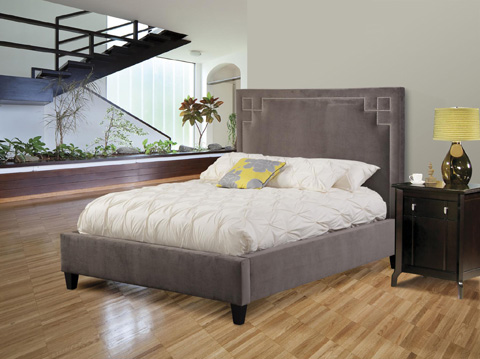 Image of Queen Upholstered Bed