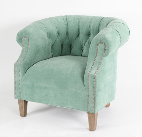 CMI - Tufted Barrel Chair - CC2167