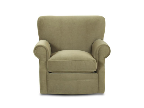 Comfort Design Furniture - Loggins Memory Swivel Chair - C74M SWVL