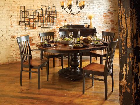 Conrad Grebel - Hudson Dining Table - M6642T/M6642B