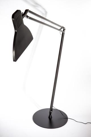 Control Brand - Fermoy Giant Floor Lamp - LM202FBLK