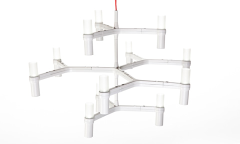 Control Brand - Shannon Modern Chandelier - LM35012PWHT