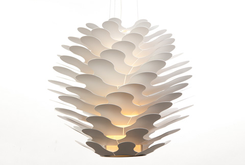 Control Brand - Edenderry Pendant Lamp - LM386PWHT