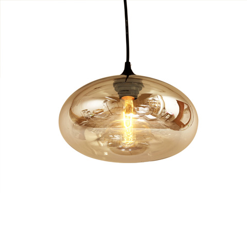 Control Brand - The Bodo Pendant in Brown Tint - LM595PBRN