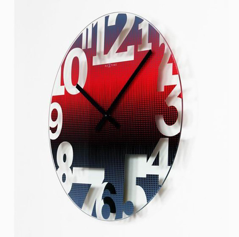 Control Brand - Swing Wall Clock - NT8127RO