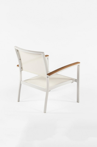 Control Brand - The Flevoland Lounge Chair - FCC0210WHT