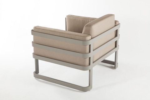 Control Brand - The Patras Lounge Chair - FCC3510GREY