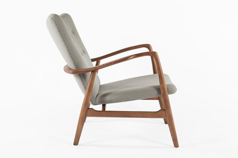 Control Brand - The Burgos Lounge Chair - FEC3339GREY