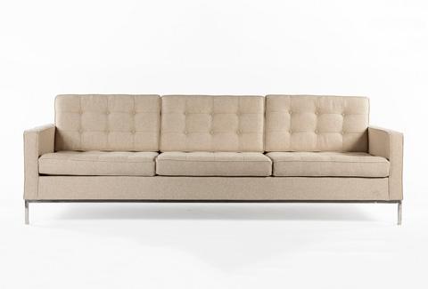 Control Brand - The Dexter Three Seater Sofa - FEC5227BEIGE3