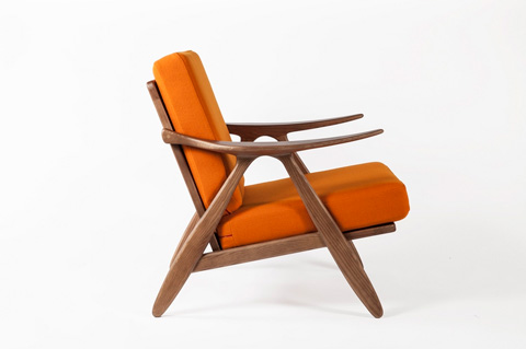 Control Brand - The Hattern Lounge Chair - FEC6339ORG