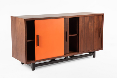 Control Brand - The Thoro Credenza - FES1039WALNUTH