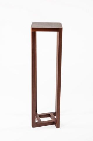 Control Brand - Naka Pedestal End Table - FET1041WALNUT