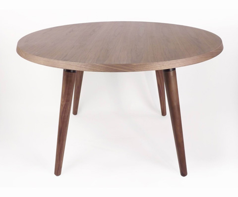 Control Brand - The Milton Dining Table in Real Walnut - FET1919B