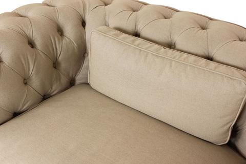 Control Brand - Chesterfield-Lux Club Chair - FG92151BEIGE
