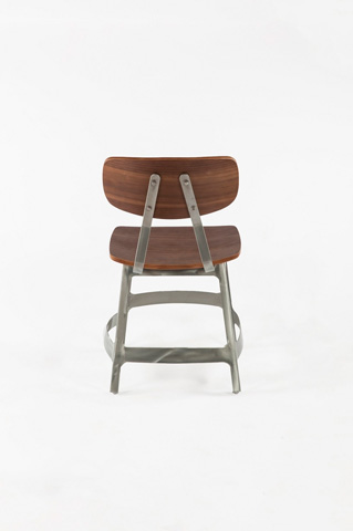 Control Brand - The Vyl Side Chair - FOC52545WALNUT