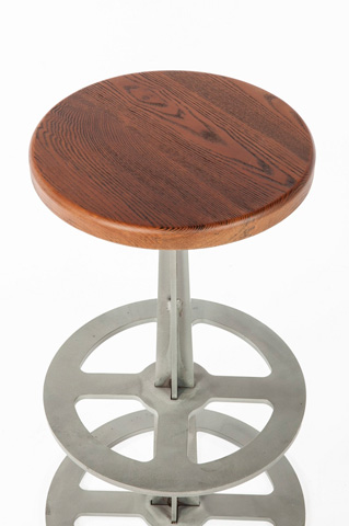 Control Brand - The Vrove Stool - FOC85169WALNUT