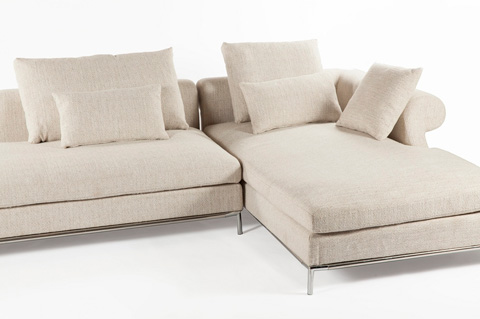 Control Brand - The Scandicci Sectional - FQS009BEIGE