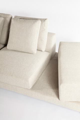 Control Brand - The Messina Sectional Sofa - FQS1303BEIGE
