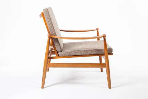 Control Brand - The Perm Lounge Chair - FX853BROWN