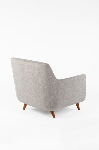 Control Brand - The Brenda Lounge Chair - FXC101GREY