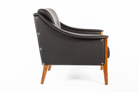 Control Brand - The Cadiz Lounge Chair - FXC88501BLK