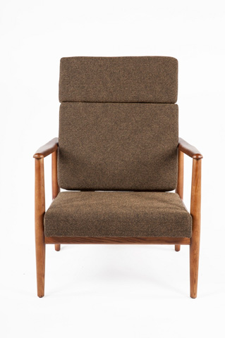 Control Brand - The Aalborg High Back Chair - FYC939FDBRN