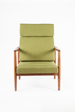 Control Brand - The Aalborg High Back Chair - FYC939FGRN