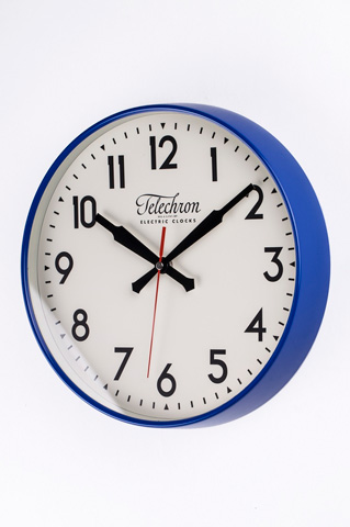 Control Brand - The Corby Wall Clock in Blue - G131512BLUE