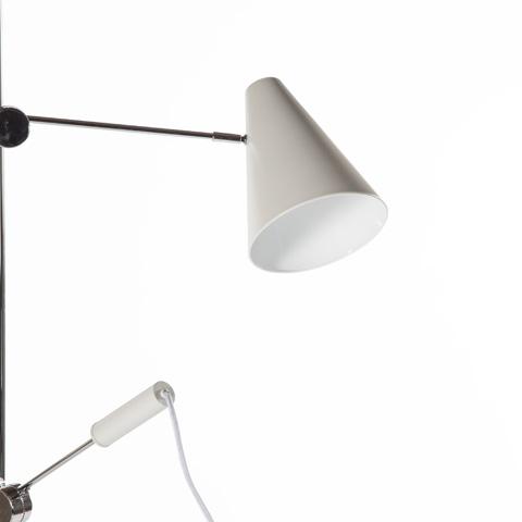 Control Brand - The Agueda Floor Lamp - LI3054WHT