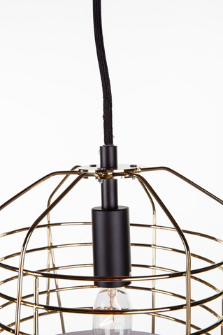 Control Brand - The Alingsas Pendant - LM3488PGOLD