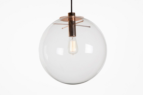 Control Brand - The Eksjo Pendant - Medium - LM540GOLDM
