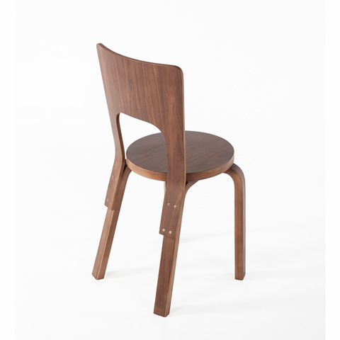 Control Brand - The Canute Dining Side Chair - FEC3839WALNUT