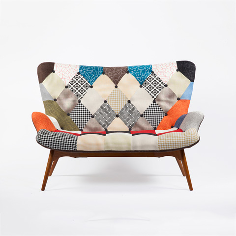 Control Brand - The Luxe Teddy Loveseat - FXC9172PATCH