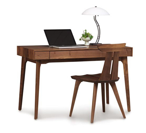 Copeland Furniture - Catalina 24x48 Desk with Keyboard Tray - 3-CAL-06-04