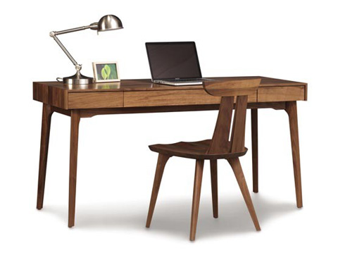 Copeland Furniture - Catalina 24x60 Desk with Keyboard Tray - 3-CAL-08-04