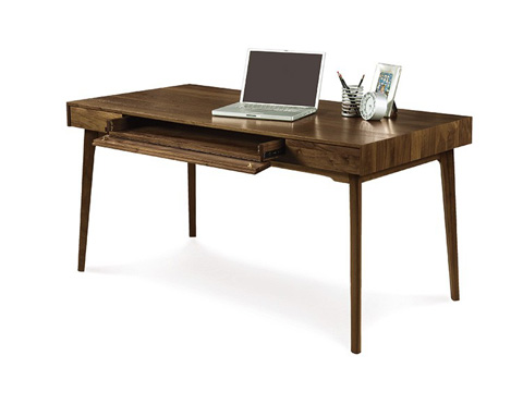 Copeland Furniture - Catalina 30x60 Desk with Keyboard Tray - 3-CAL-10-04