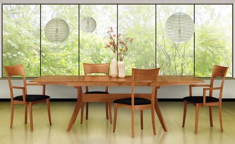 Copeland Furniture - Audrey 3 Drawer Buffet - Cherry - 6-AUD-51