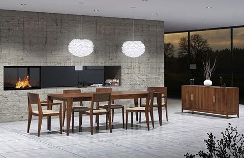 Copeland Furniture - Kyoto 1 Drawer 2 Door Buffet - 6-KYO-30-04