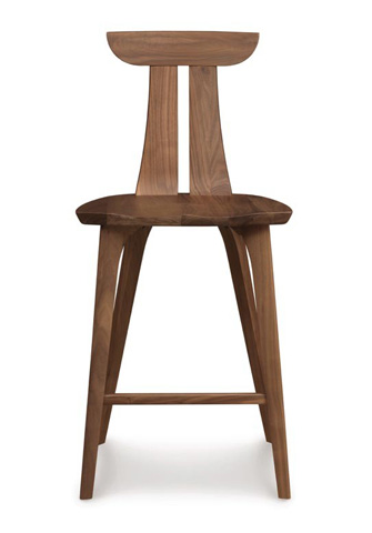 Image of Estelle Counter Stool - Walnut