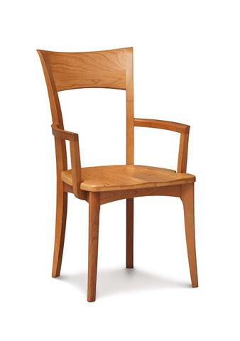 Copeland Furniture - Ingrid Armchair - Walnut - 8-ING-23-04