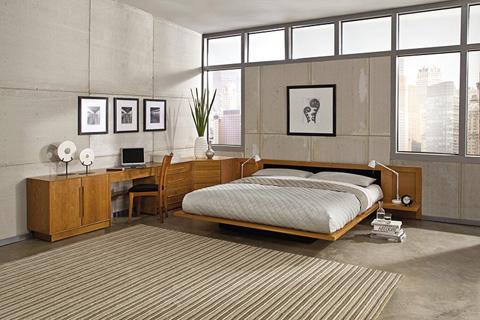 Copeland Furniture - Moduluxe Corner Case with Three Drawers - 4-MOD-80