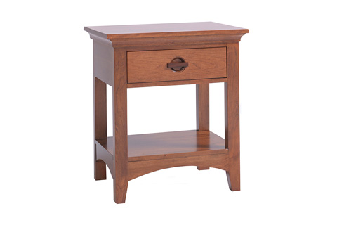 Image of One DrawerNightstand