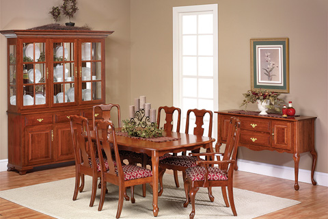 Country View Woodworking, Ltd - Leg Dining Table - 21-542662